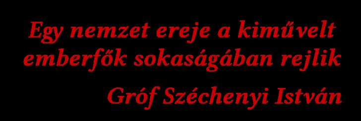 Széchenyi idézet